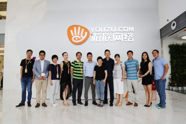 乒乓女皇邓亚萍到访游创中心指导交流