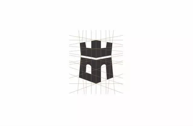 战神logo素描