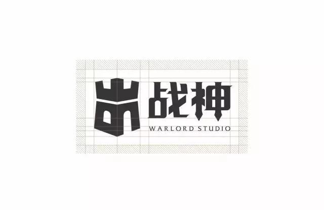 战神logo设计