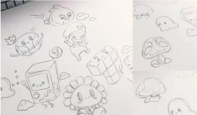 手绘玩转游戏ai插画经验分享(上)