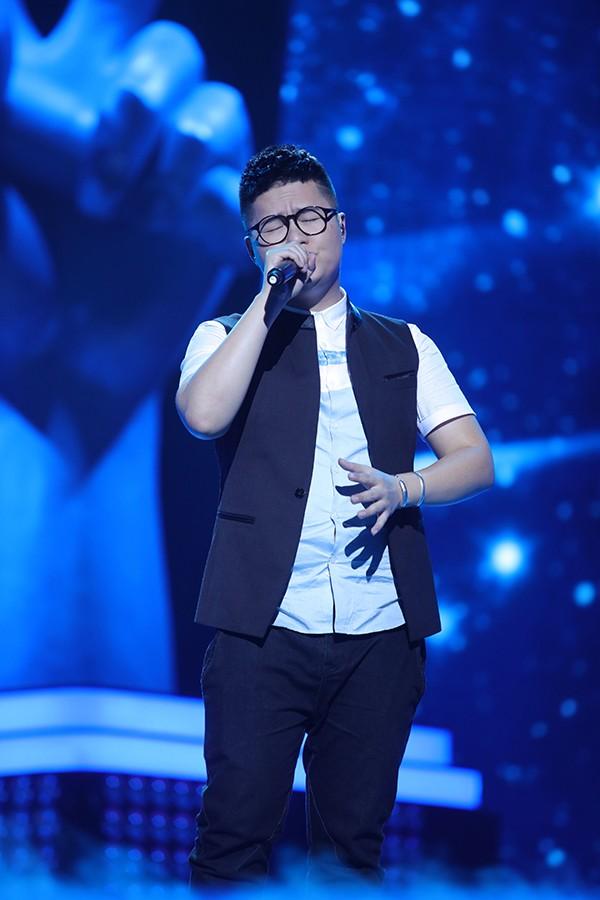 朱强两度登上《中国好声音》的舞台