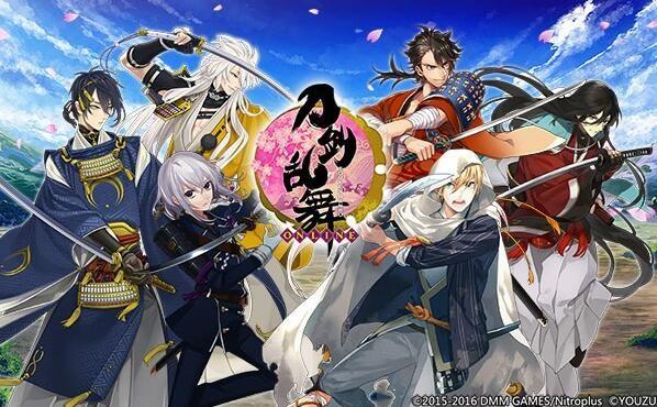 《刀剑乱舞-ONLINE-》中文版
