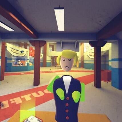 VR游戏娱乐室